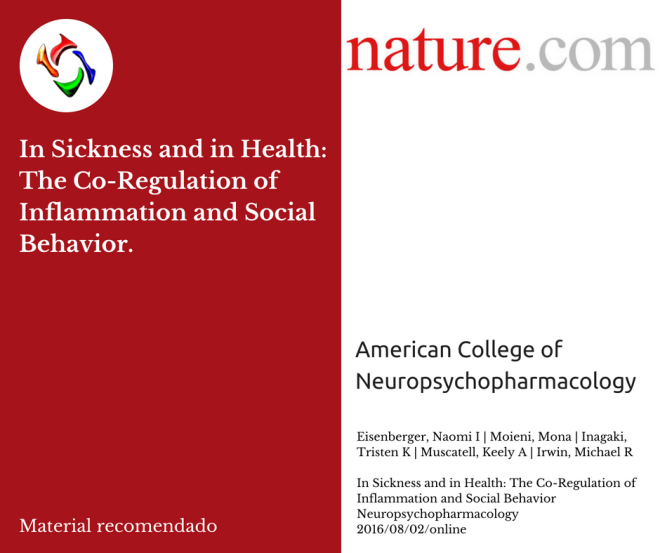 In Sickness and in Health: The Co-Regulation of Inflammation and Social Behavior