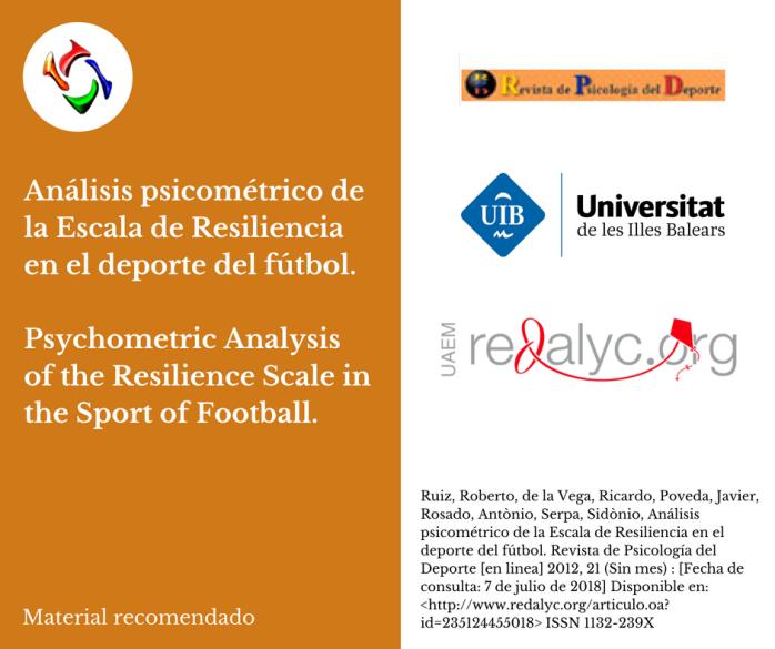 Material recomendado - Revista de Psicología del Deporte