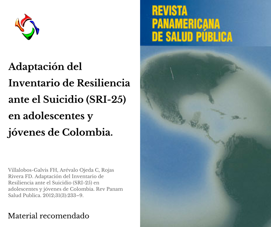 Material de Resiliencia - Revista Panam Salud Pública