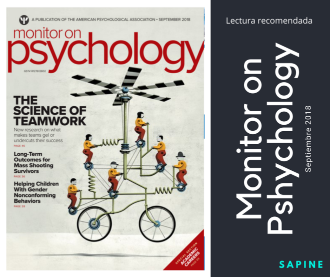 Monitor on Psychology - Septiembre